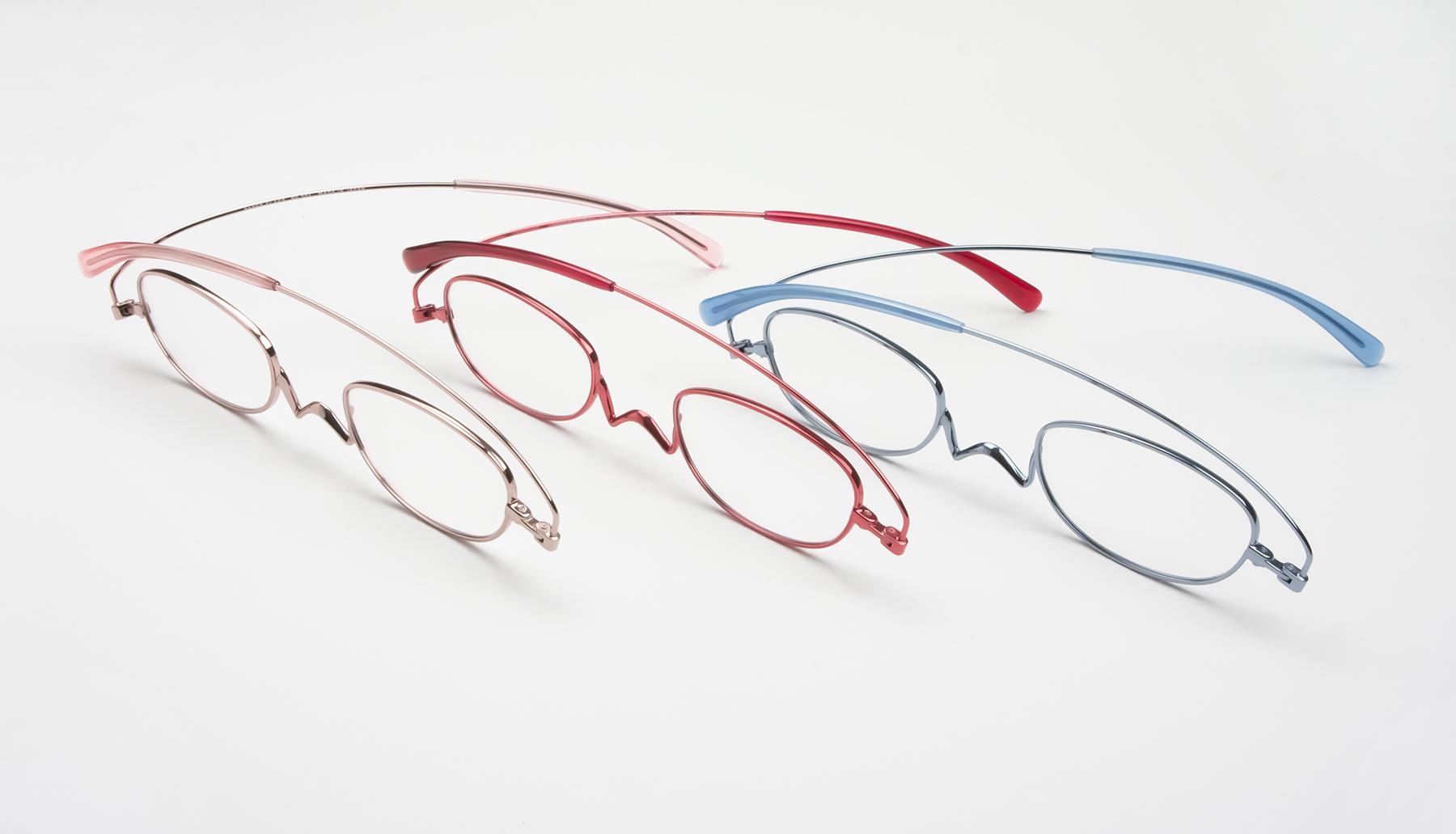 リーディンググラス  老眼鏡 ペーパーグラス ベーシックカラー オーバル