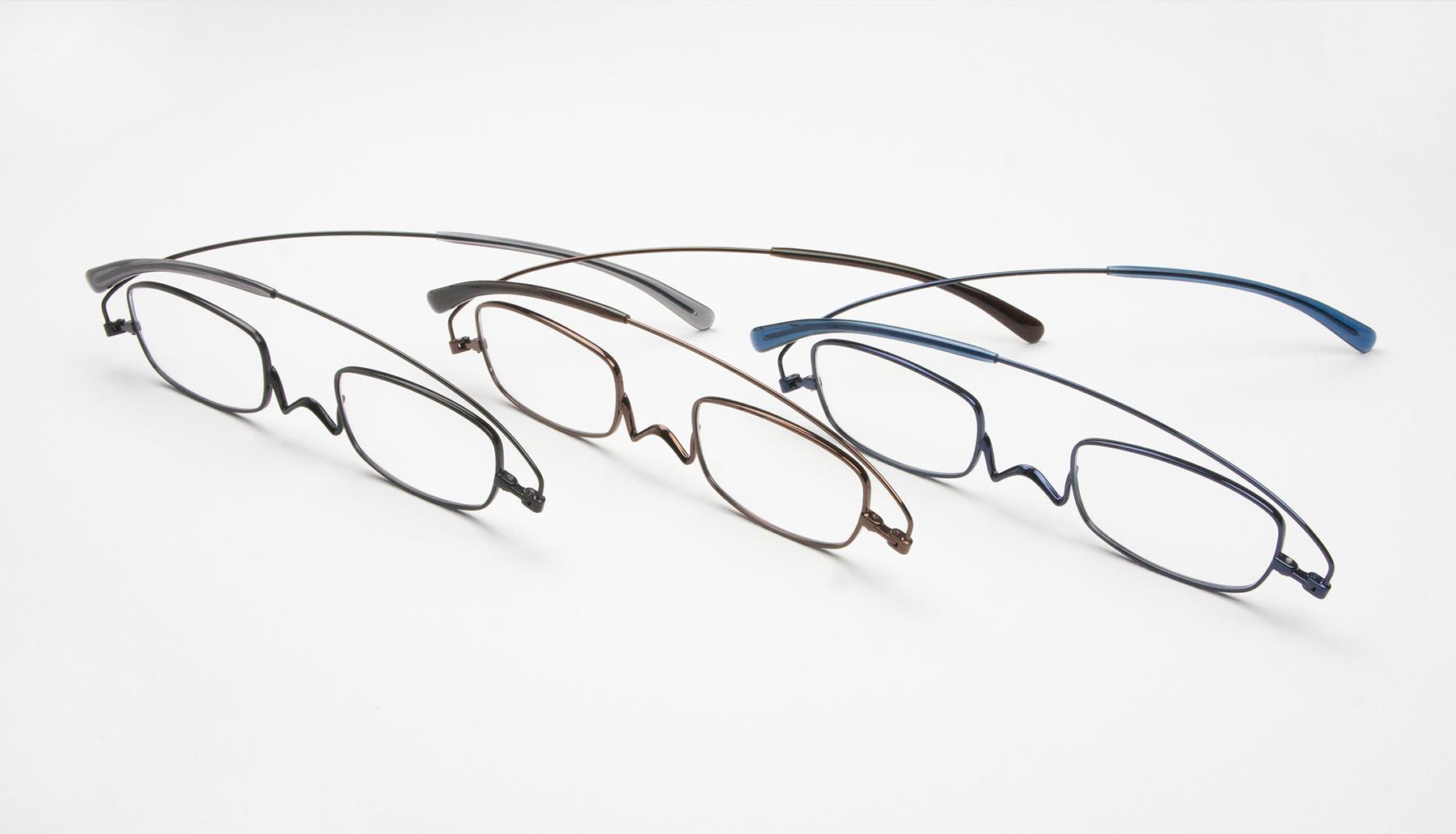 リーディンググラス  老眼鏡 ペーパーグラス ベーシックカラー