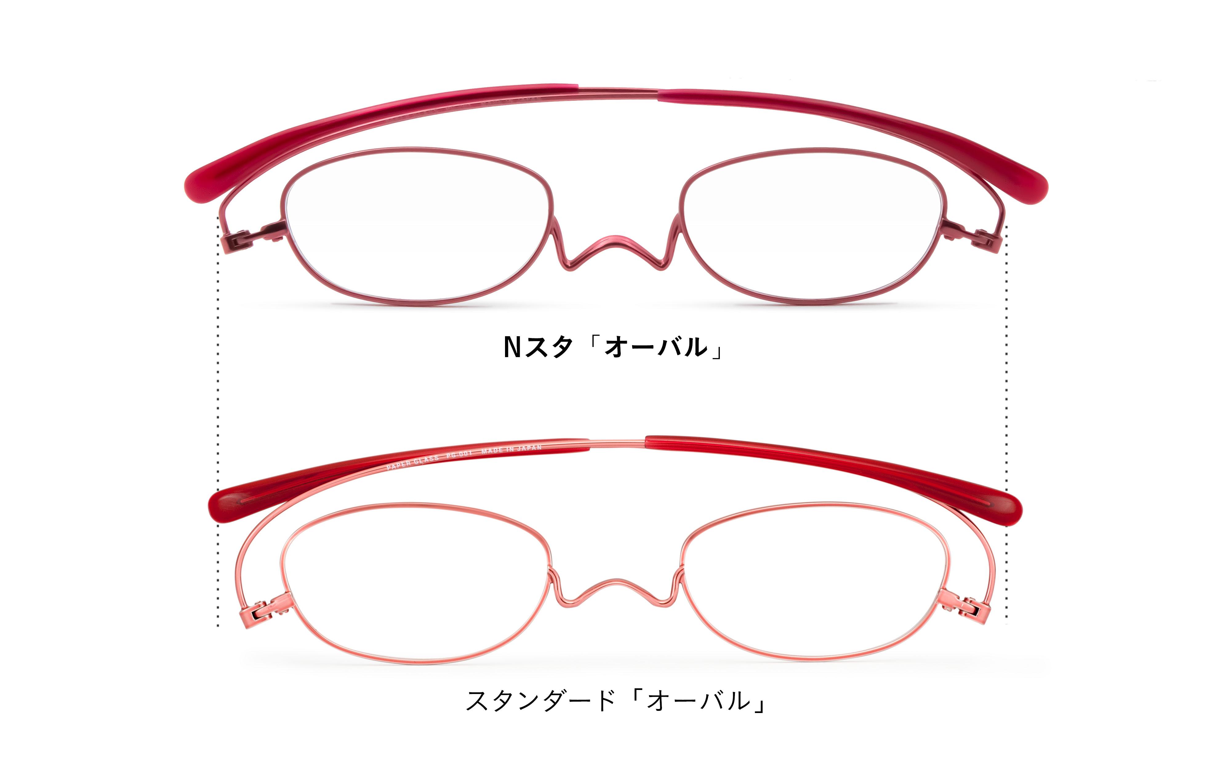 薄型 老眼鏡 ペーパーグラス Nスタ ベーシック