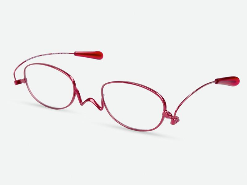 ペーパーグラスmini2は軽い薄型 老眼鏡です