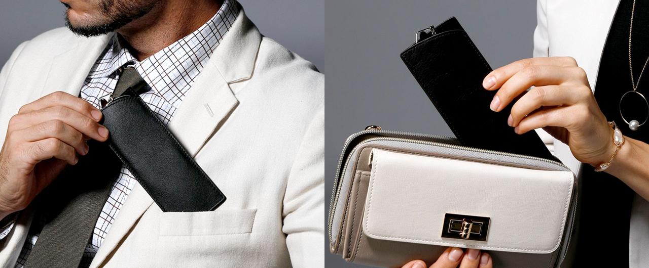 ペーパーグラス・サングラスは胸ポケットやお財布に入る薄型サングラスです。