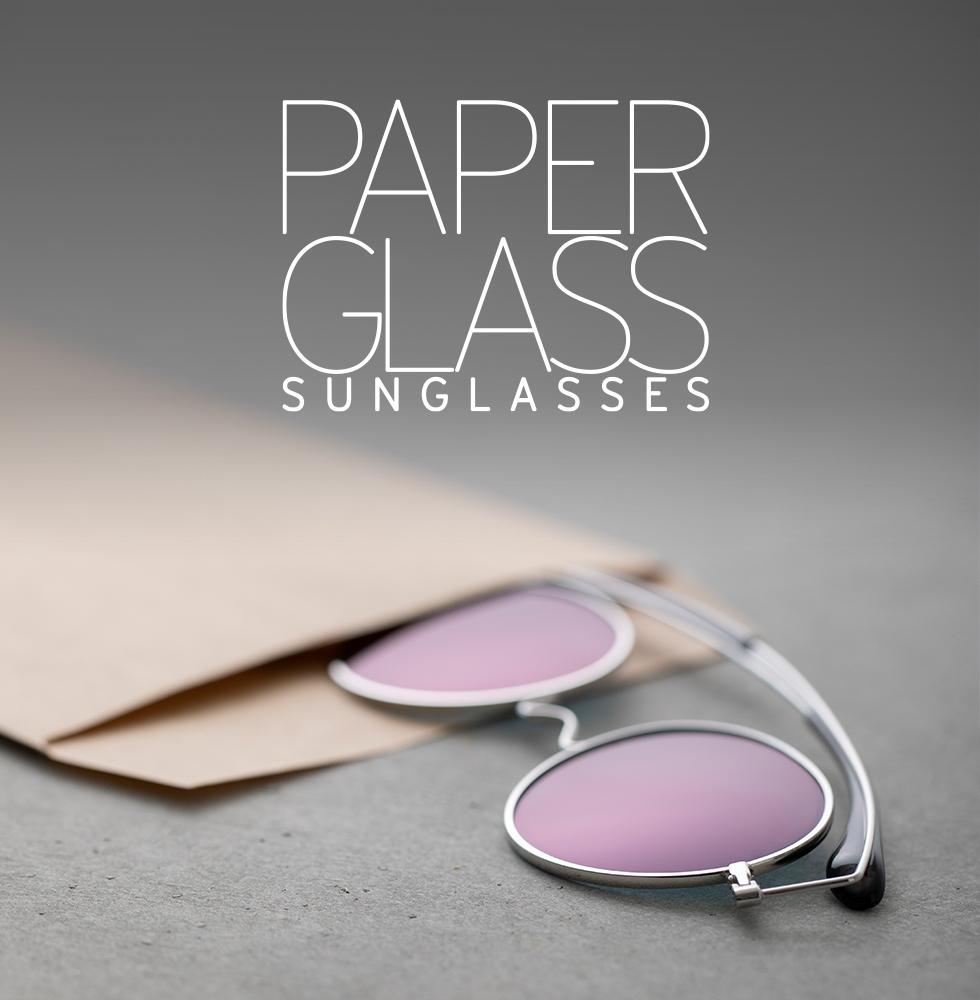 ペーパーグラス お財布に入る薄型サングラス