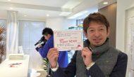 福井テレビさんが取材に!福井テレビ Super NEWS 「ふくい元気企業」で2月25日に放送予定。