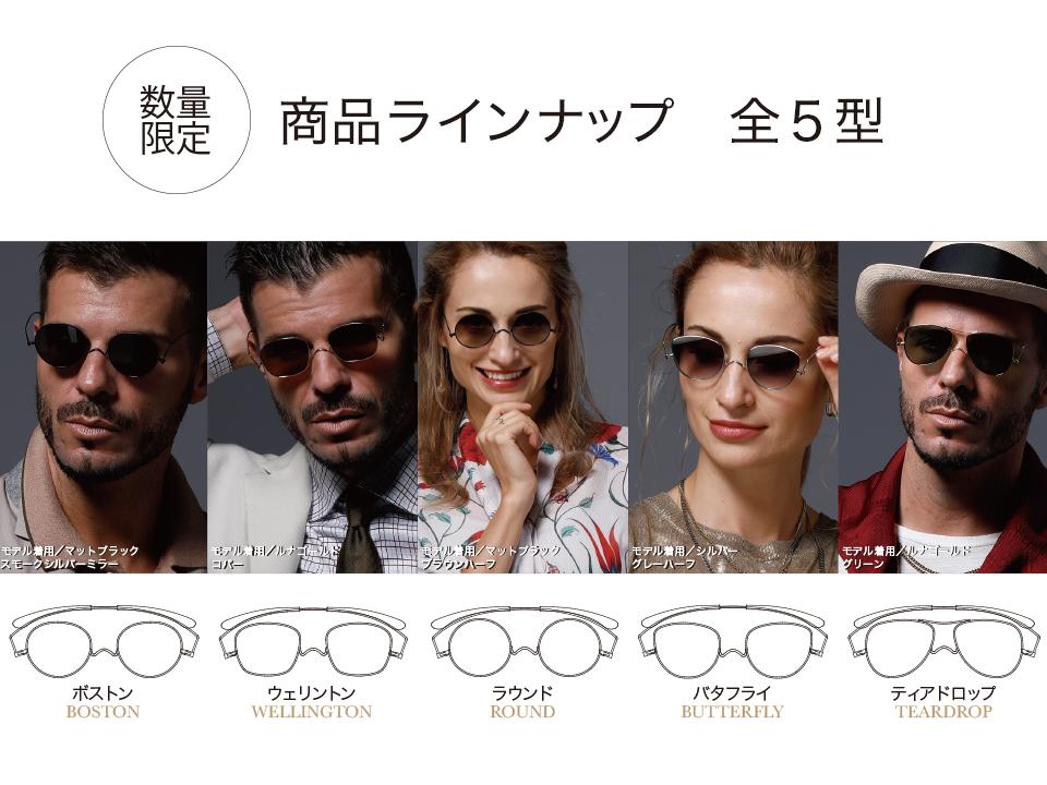 夏フェスやアウトドア、旅行にもおすすめ!財布に入る!超薄型3mmのサングラス