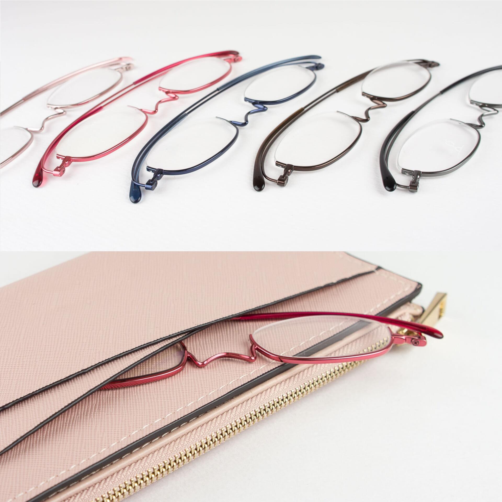 薄型めがね 老眼鏡 ペーパーグラスTR